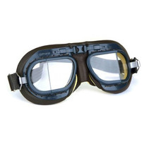mark 8 raf pilot goggles brown leather