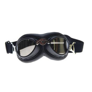 CRG zwarte steampunk rider motorbril