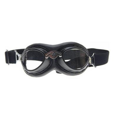 CRG black steampunk rider motor goggles