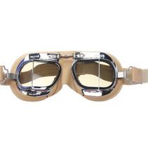 mark 49 creme pilotenbril smoke glas