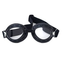 black motor goggles