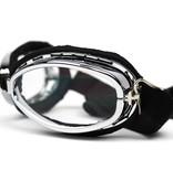 CRG chrome wolverine motorbril