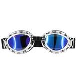 CRG chrome steampunk motorbril