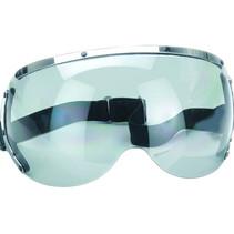 goggle visor light smoke