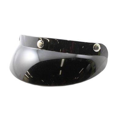 Helm zonneklep glans zwart XL