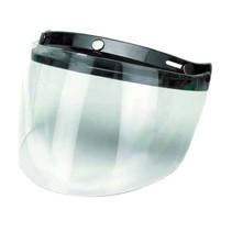 flip up 3 button visor clear