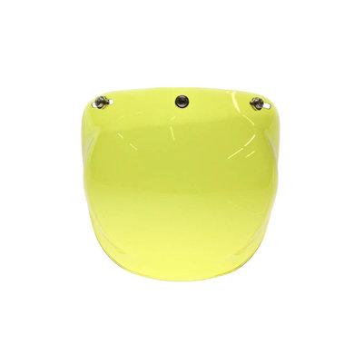 Bubble visor yellow