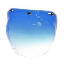 Bubble visor gradient blue