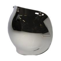 Bubble visor chrome