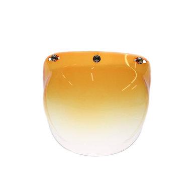 Bubble vizier gradient oranje