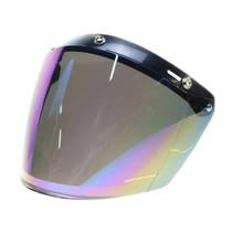 U flip up 3 button visor multi-colour