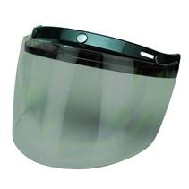 flip up 3 button visor smoke