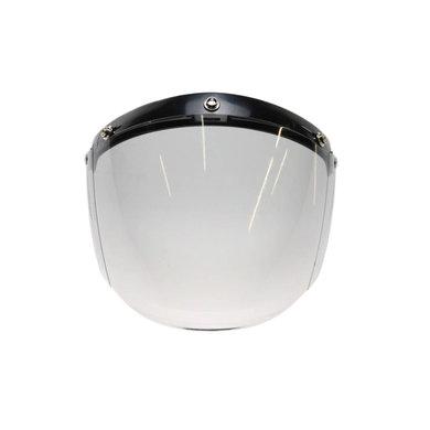 U flip up 3 button visor light smoke