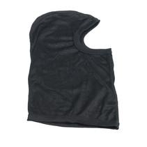 balaclava black silk | helmet cap