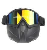 Dark mask | motorcycle helmet mask