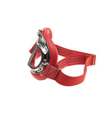 Halcyon mark 49 red pilot goggles clear glass
