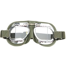 mark 49 green pilot goggles clear glass