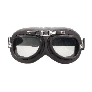 CRG zwart-chrome motorbril