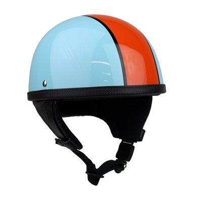 Redbike RB-514 half helmet Gulf | light blue - orange