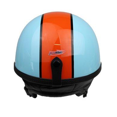 Redbike RB-514 gulf pothelm | lichtblauw - oranje