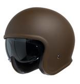 IXS 880 1.0 jet helmet matt brown