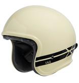 IXS 880 2.1 jet helmet ivory white