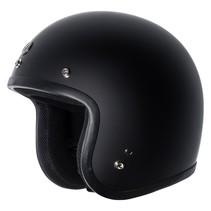 T50C jethelm mat zwart