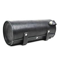 leather toolbag | vintage black