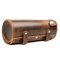 leather toolbag | old brown