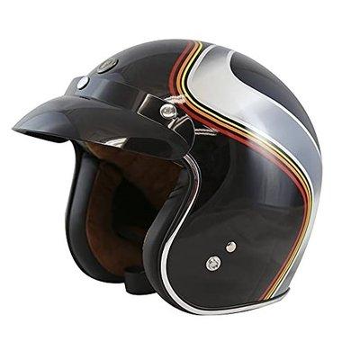Torc T50 Luminous black jet helmet