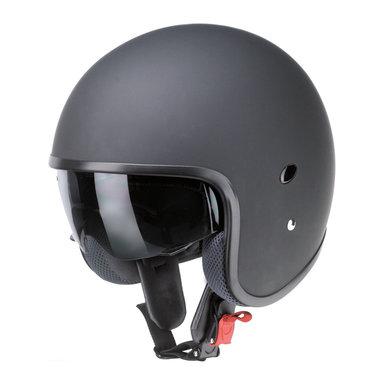 Redbike RB-770 jet helmet matt black