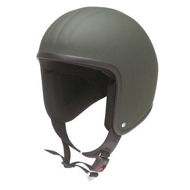 Redbike RB-671 jet helmet matt green