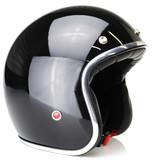 IXS HX 89 jet helmet shinny black