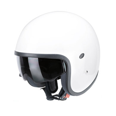 Redbike RB-771 jet helmet white