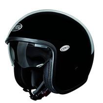 vintage U9 black open face helmet