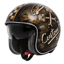 vintage OP 9 BM jet helmet