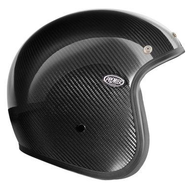 Premier le petit carbon open face helmet