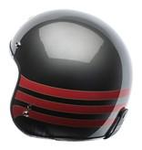Torc T-50 fastlane grey jet helmet