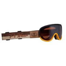 arizona motorbril oranje-bruin