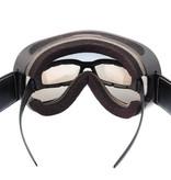 Pi Wear arizona motor goggle orange-brown