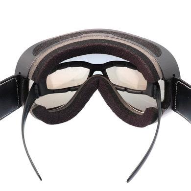 Pi Wear arizona motorbril oranje-bruin