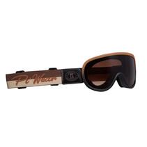 arizona motor goggle brown