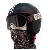 Pi Wear arizona motorbril zwart-grijs