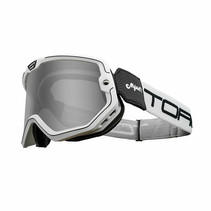 black & white mojave classic retro motor goggle