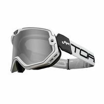 black & white mojave classic retro motorbril