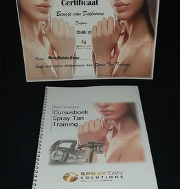 Individuele Spray Tan training