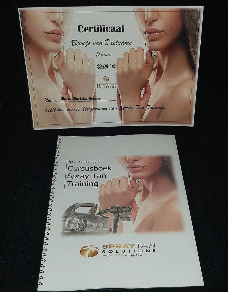 Individuele Spray Tan training