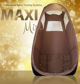 MaxiMist Spray tanning Tent/Cabine Bruin