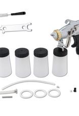 MaxiMist Spray Tan pistool - Pro gun Maximist aluminium