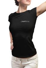Suntana Suntana Dames t-shirt ronde hals met Suntana begedrukt logo